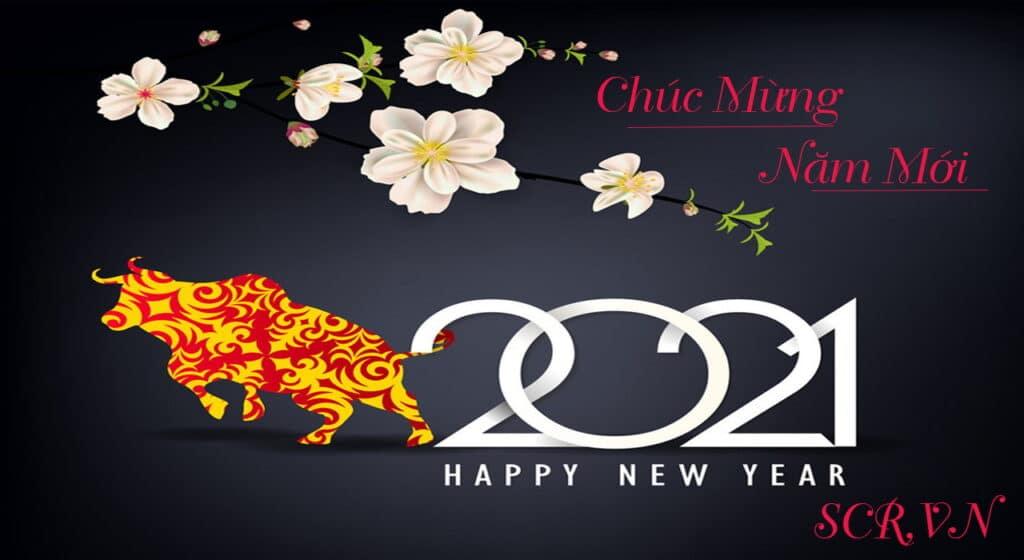 Chúc mừng năm mới 2021