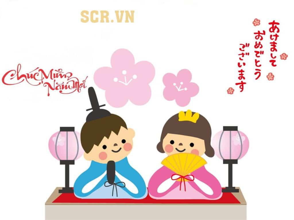 Chúc mừng năm mới bằng tiếng Nhật hay