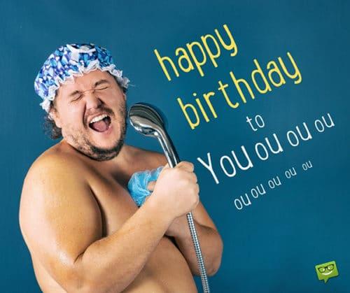 Hài hước và vui nhộn với lời chúc mừng sinh nhật đặc sắc