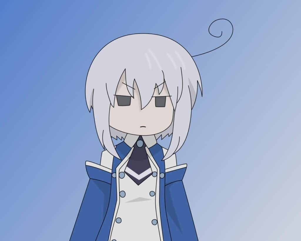 Hình Anime chibi buồn cute nam