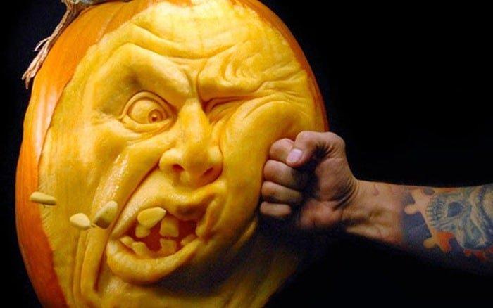 Hình Halloween chế cực bựa