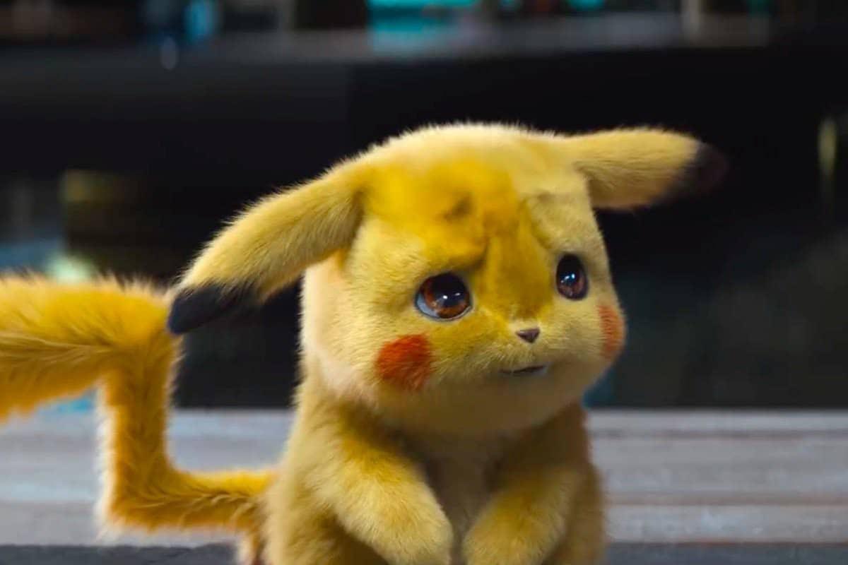 Hình Pikachu 3D buồn cute
