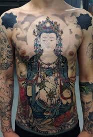 Hình Tattoo Hư Không Tạng Bồ Tát cho nam