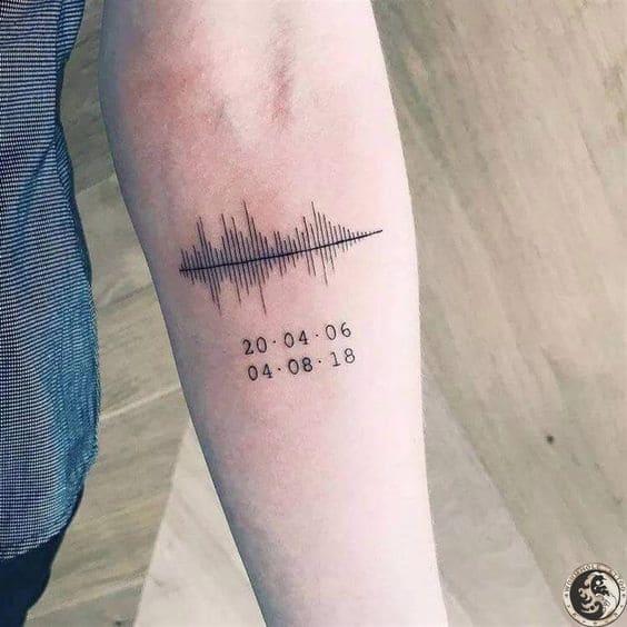 Hình Xăm Tattoo Mạch Tim Đẹp