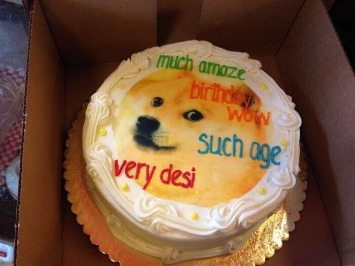 Hình ảnh chú chó tinh nghịch gửi tặng bạn thân ngày sinh nhật