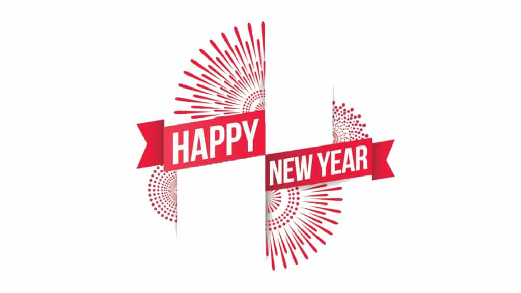 Hình ảnh mừng năm mới đầy nghệ thuật