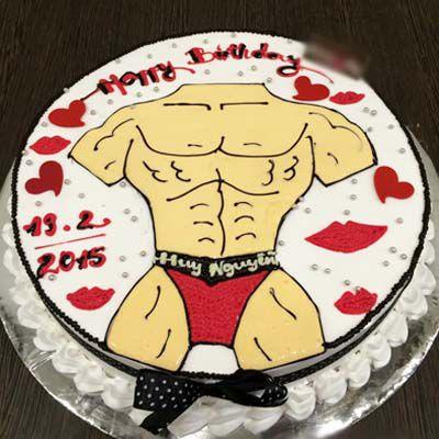 Hình bánh sinh nhật cho nam