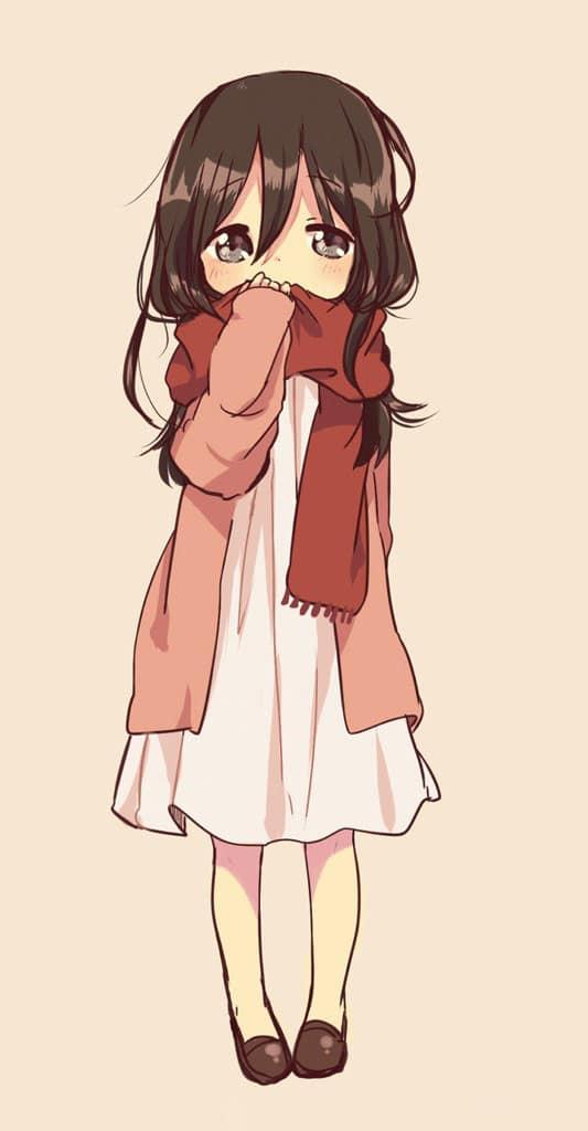 Hình Anime buồn đẹp cho con gái