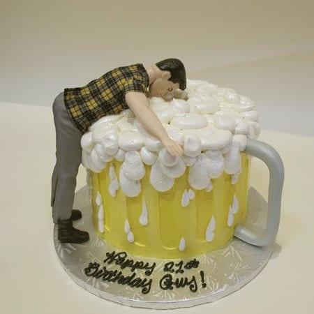 Hình ảnh bánh sinh nhật bựa