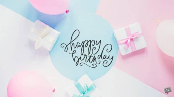 Hình chúc mừng sinh nhật đẹp và dễ thương