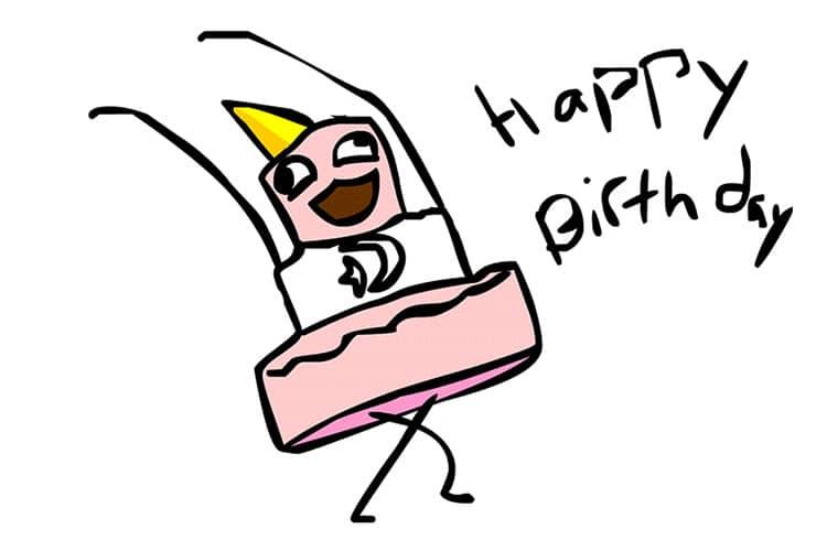 Hình chúc mừng sinh nhật vui