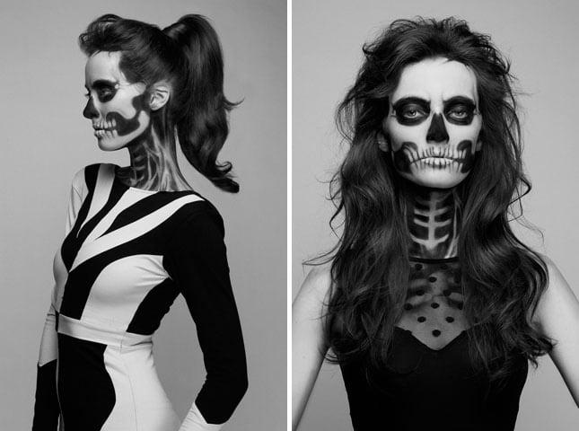Hình hóa trang Halloween kinh dị đẹp
