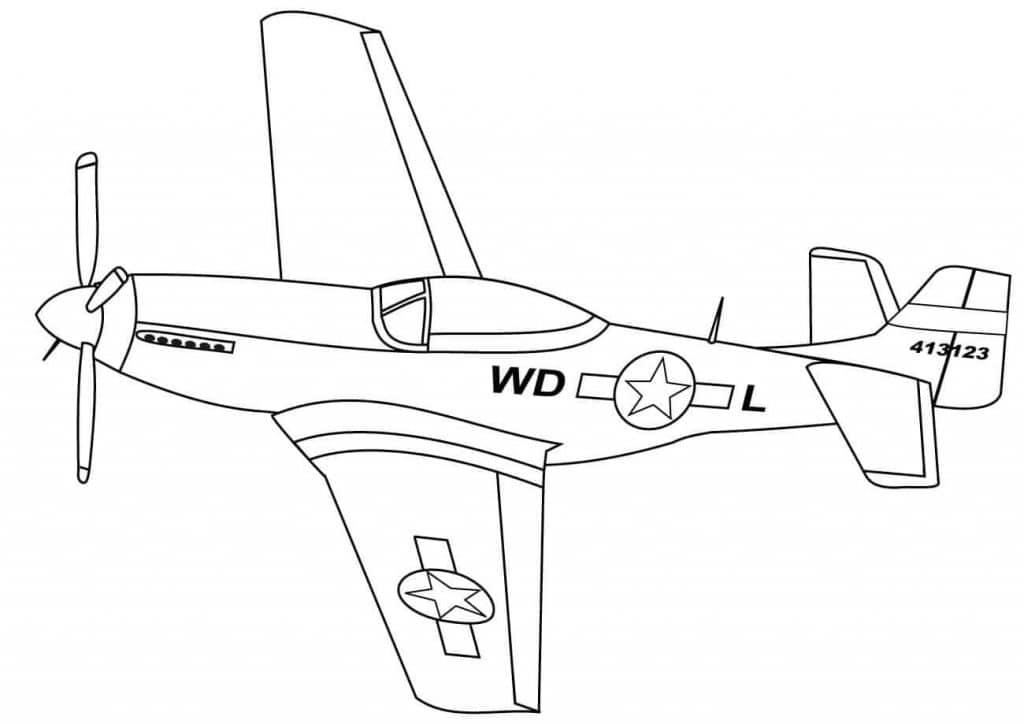 Hình máy bay phản lực đẹp cho bé