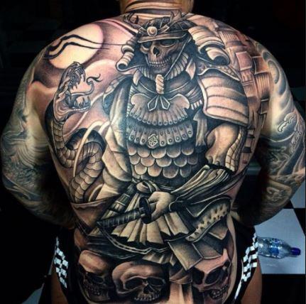 Hình tattoo mặt quỷ ấn tượng nhất
