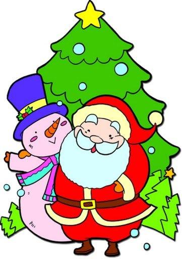 Hình vẽ cây thông Noel giáng sinh đẹp