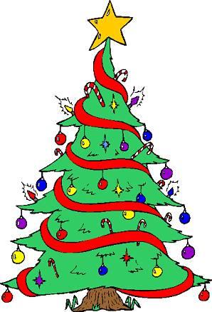 Hình vẽ cây thông Noel