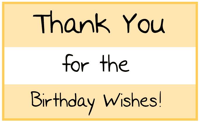Lời cảm ơn nhẹ nhàng và ngắn gọn