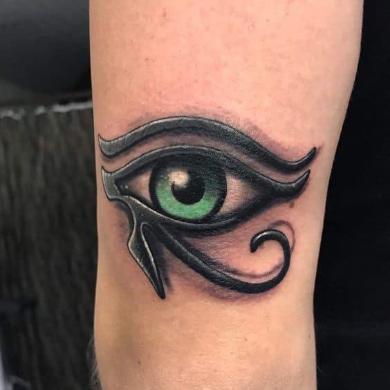 Mắt thần horus làm thành hình xăm chất và ý nghĩa