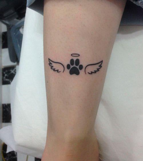 Mẫu Xăm Tattoo Đôi Cánh Mini