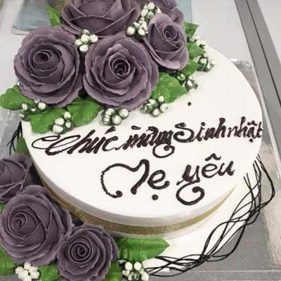 Mẫu bánh kem siêu đẹp mừng sinh nhật mẹ