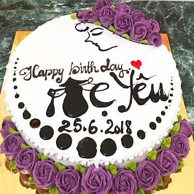 Mẫu bánh kem tặng mẹ sinh nhật siêu đẹp