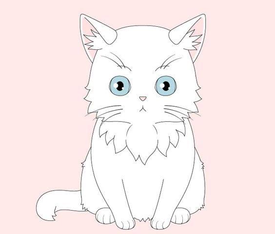 Mèo anime siêu cute