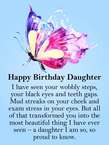 Một lời chúc nhẹ nhàng và tình cảm mừng sinh nhật con gái