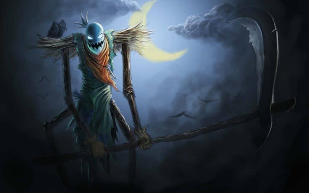 Nền ma quỷ Halloween cực đáng sợ