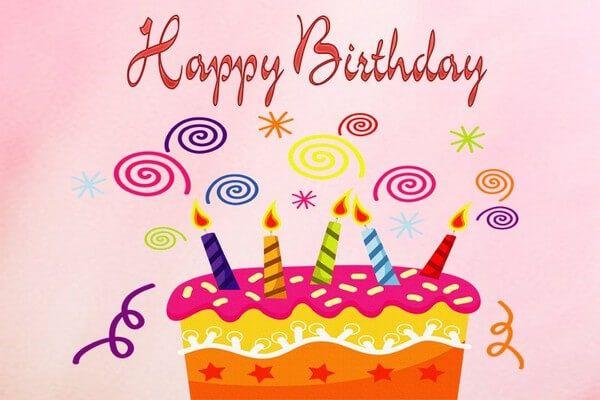 Ngộ nghĩnh và đáng yêu với chữ chúc mừng sinh nhật