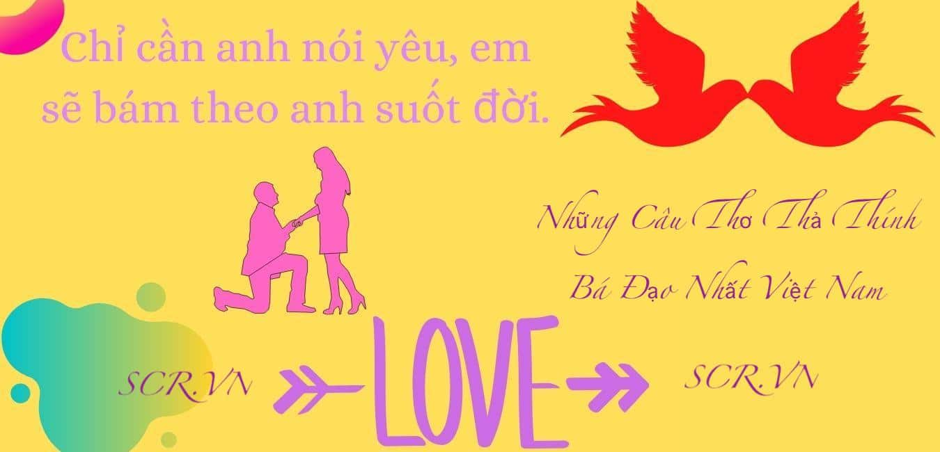 Những Câu Thơ Thả Thính Bá Đạo Nhất Việt Nam