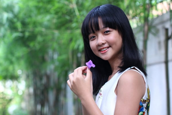 Tài năng nhí của Việt Nam với má lúm siêu đáng yêu