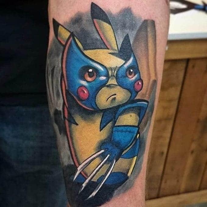 Tattoo Xăm Pikachu Vorlage