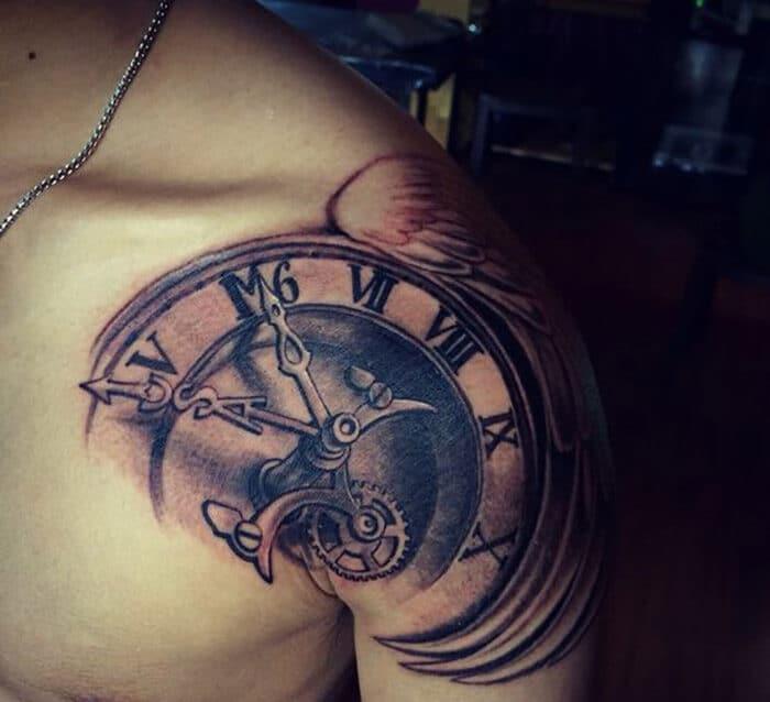 Tattoo đẹp cho nam ở vai