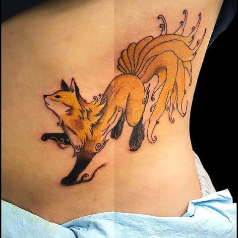 Tattoo hồ ly đẹp và đặc sắc