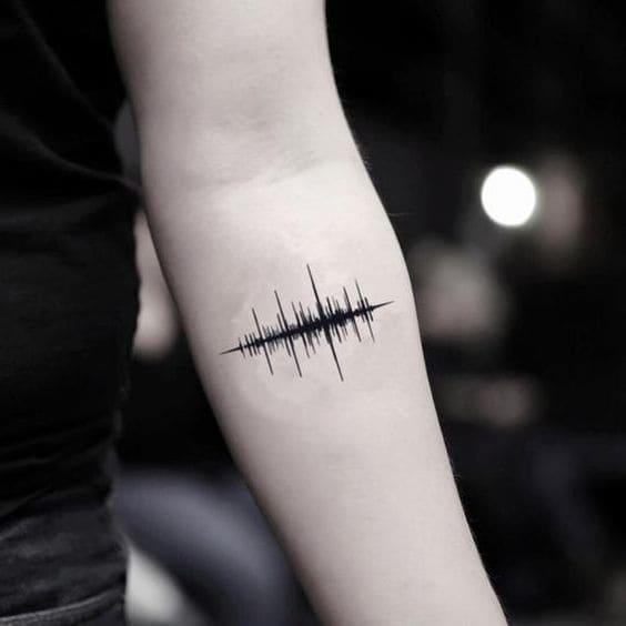 Tattoo mạch tim mini