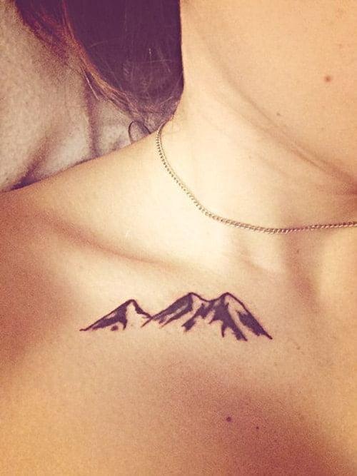 Tattoo mini cho chữ mệnh Thổ