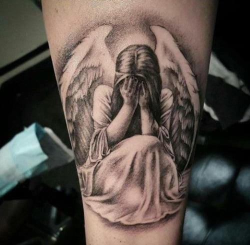 Tattoo thiên thần hộ mệnh độc đáo và mới lạ
