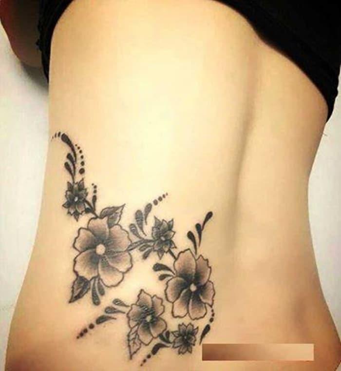 Tattoo xăm đẹp nhất cho nữ ở eo