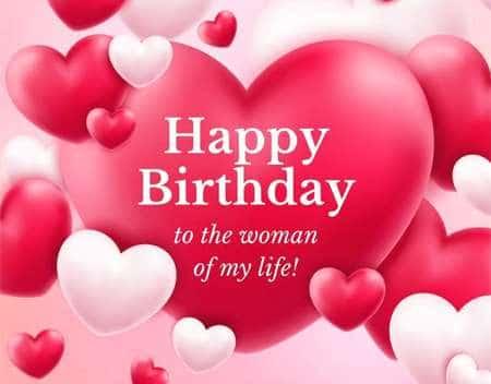 Thiệp chúc mừng sinh nhật Vợ bằng tiếng Anh hay
