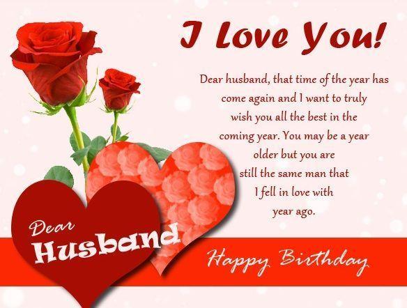Thiệp đẹp kèm lời chúc tiếng Anh mừng sinh nhật ông xã