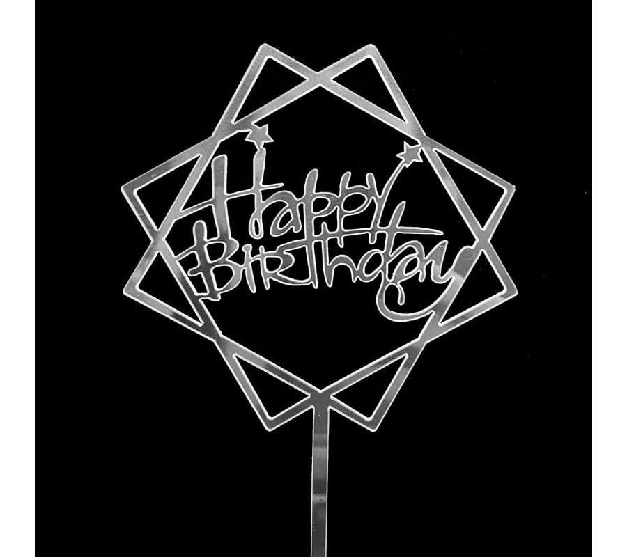 Trang trí sinh nhật thêm ấn tượng cùng chữ happy birthday