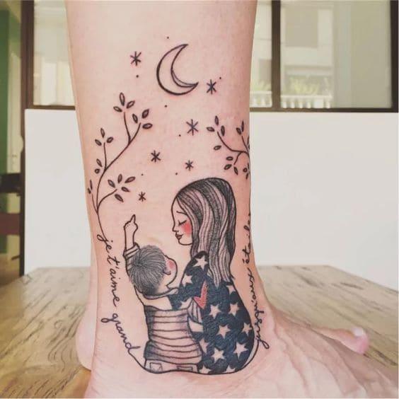 ảnh tattoo mẹ đẹp nhất
