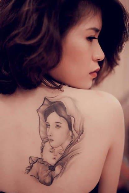 hình tattoo về mẹ đẹp và ý nghĩa nhất