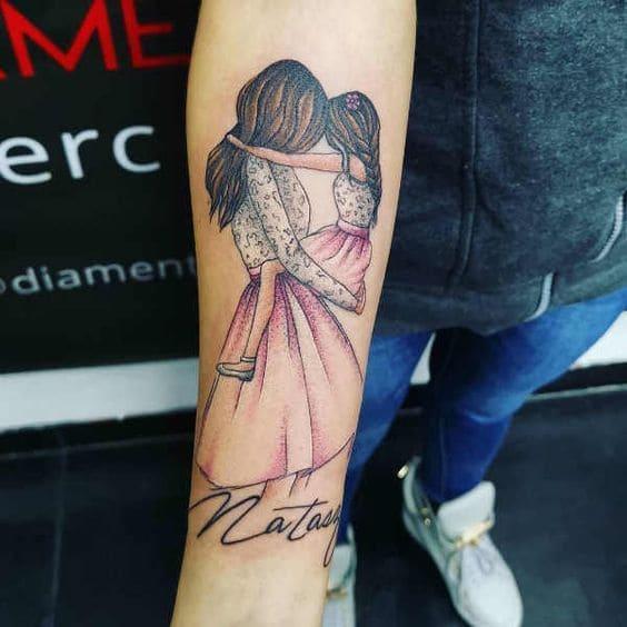 hình tattoo về mẹ tuyệt đẹp