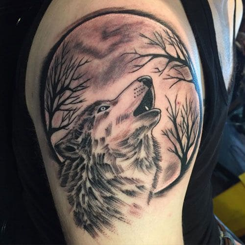 hình xăm tattoo đẹp ngầu ở bắp tay con trai