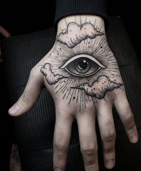 kiểu xăm hình con mắt lạ mắt độc đáo
