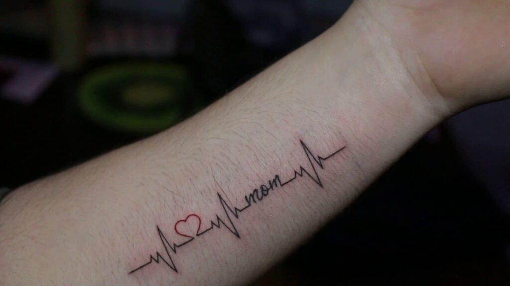 mẫu hình xăm nhịp tim cực kỳ ý nghĩa