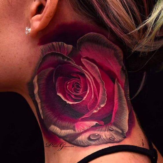 mẫu tattoo 3d cho nữ cute
