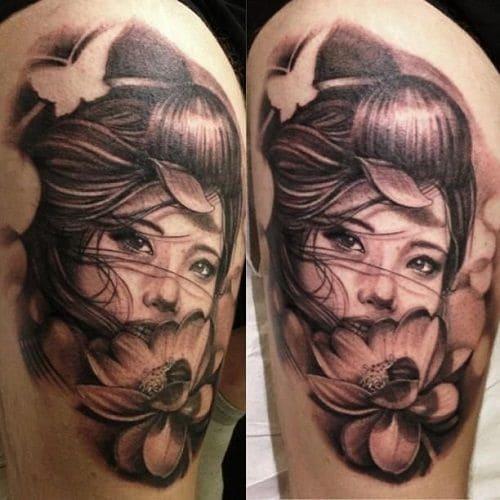 mẫu tattoo cô gái đẹp nhất
