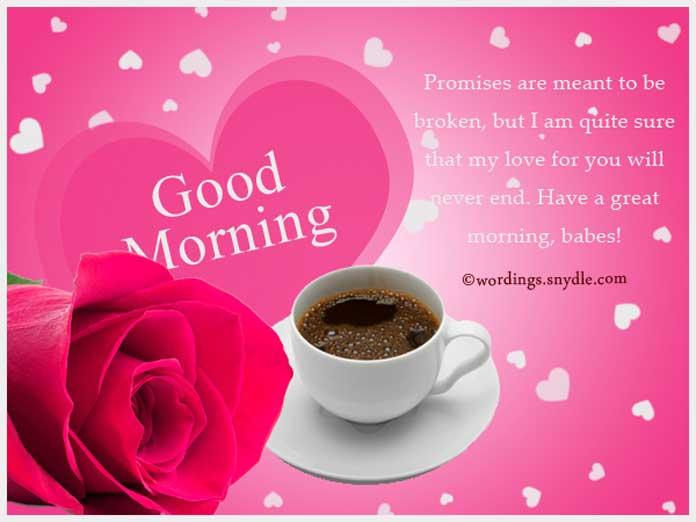 Ảnh chào buổi sáng lãng mạn cho người yêu